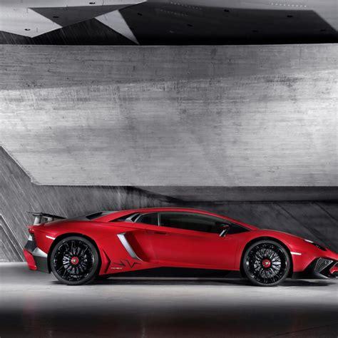 Red Lamborghini Aventador Lp750-4 Sv Car 4k Uhd Car