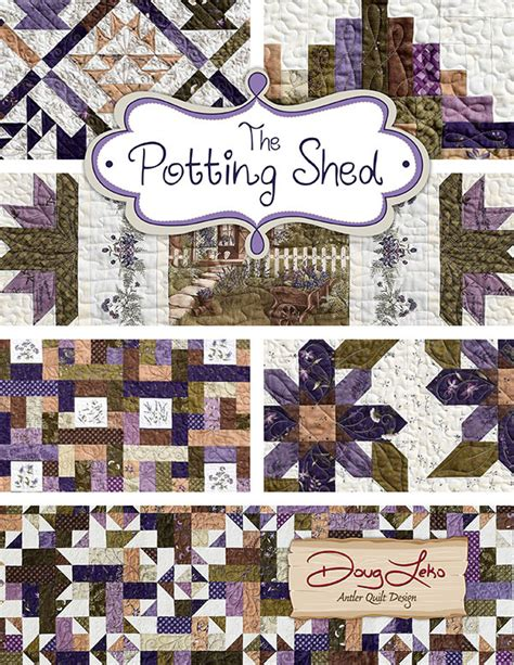 The Shed Book A Table by The Potting Shed Table Runner Quilt Kit Quilt Book