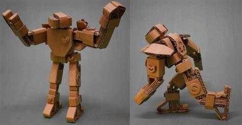 cardboard robots paper beats metal