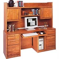 martin furniture contemporary computer credenza with hutch