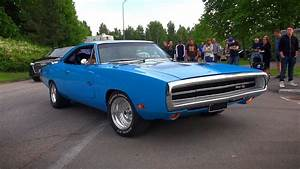 Baby Blue 1970 Dodge Charger R  T 440