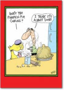 Funny Cartoon Pumpkin Pie