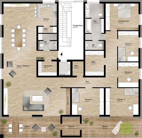 Die Besten 25+ Grundriss Mehrfamilienhaus Ideen Auf