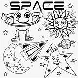 Coloring Satellite Pages Printable Getcolorings sketch template