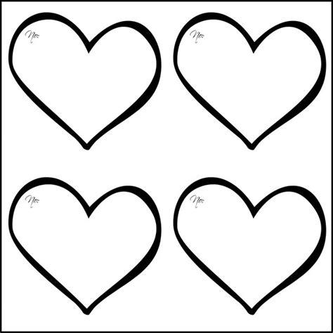25+ Heart Template, Printable Heart Templates Free