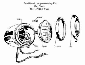 flathead electrical wiring diagrams With 1941 ford coe truck