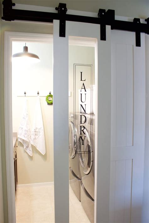 laundry room doors 27 awesome sliding barn door ideas for the home homelovr