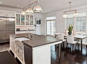 kitchen island with sink and seating design decoration With what kind of paint to use on kitchen cabinets for white birch candle holders