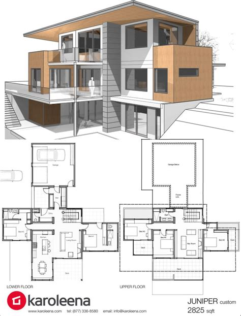 contemporary home designs and floor plans floor plans for modern homes homes floor plans