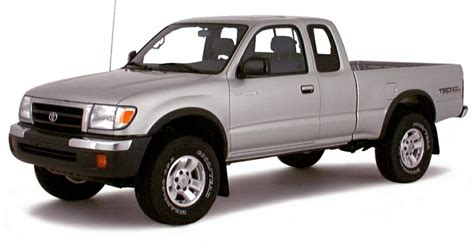 2000 Toyota Tacoma by 2000 Toyota Tacoma Limited V6 4x4 Xtracab 121 9 In Wb