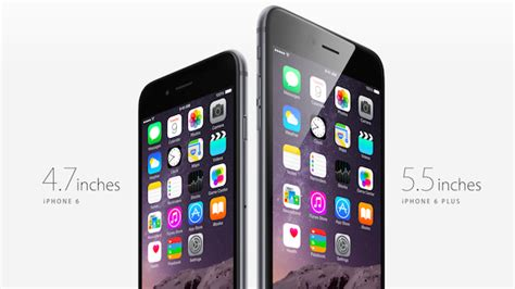 how many inches is the iphone 6 iphone 6 plus official tech specs