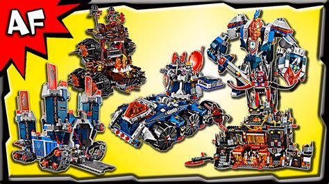 Top 5 Most Wanted Lego Nexo Knights 2016 Sets
