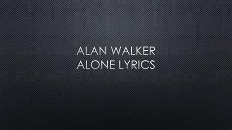 walker alan lyrics