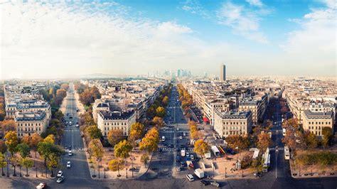 romantic city paris france house road sky wallpaper