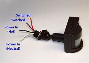 Motion Sensor Switched Output Hack