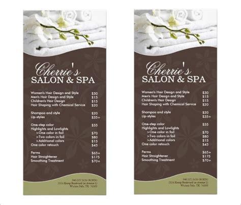 spa menu template 22 spa menu templates psd eps free premium templates