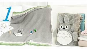 How to Crochet Blanket: My Neighbor Totoro Blanket 1/5 ...