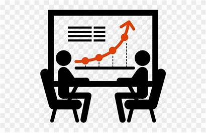 Icon Sales Marketing Management Office Transparent Contract