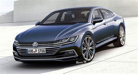 2018 Volkswagen Cc Rendering Is Super Sharp