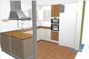 Colonne D Angle Cuisine : mon projet de cuisine en b ton cellulaire communaut leroy merlin ~ Teatrodelosmanantiales.com Idées de Décoration