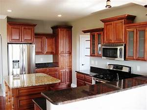 kitchen kitchen remodeling idea with u shaped mahogany With 10x10 kitchen designs with island