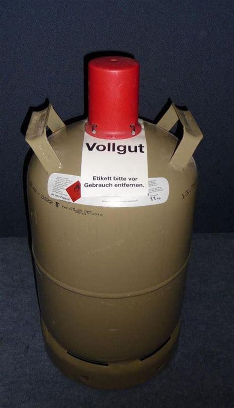 gasflasche 11 kg kaufen propan gasflasche 11 kg gef 252 llt in sinsheim 214 fen heizung klimager 228 te kaufen und verkaufen