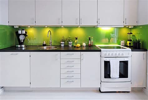 green and white kitchen departamento n 243 rdico moderno en blanco con detalles en colores 3962