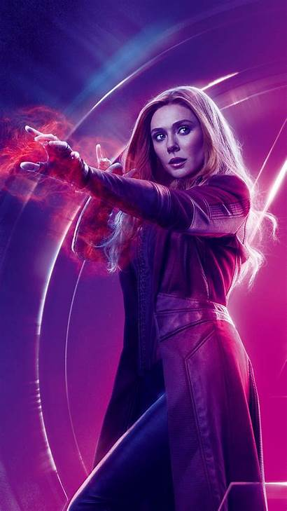 Avengers Infinity War Wanda Poster Scarlet Witch
