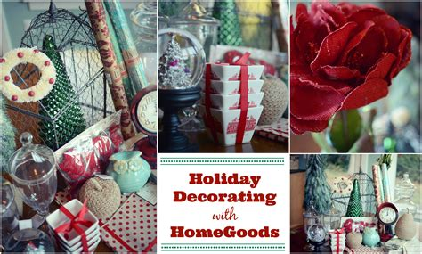 Homegoods Decor: Decorating For The Holidays With HomeGoods!