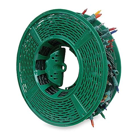buy st nick s choice large christmas lite reel from bed