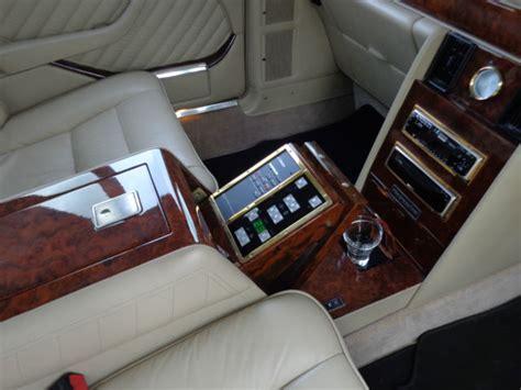 mercedes benz carat  duchatelet limousine