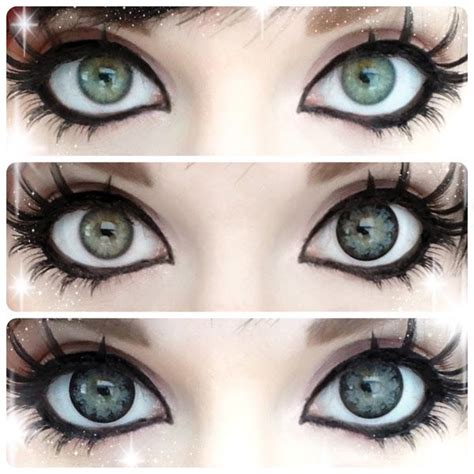 anime lenses bright and sparkling geo xtra large circle lenses