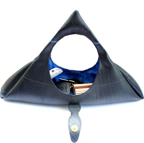 sac a chambre a air sac à bi ethic triangle decorelie de l 39 à la déco