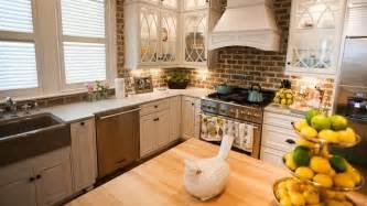 Kitchen Backsplash Brick Kitchen Brick Backsplashes For Warm And Inviting Cooking Areas