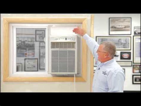 air conditioner sliding window installation youtube
