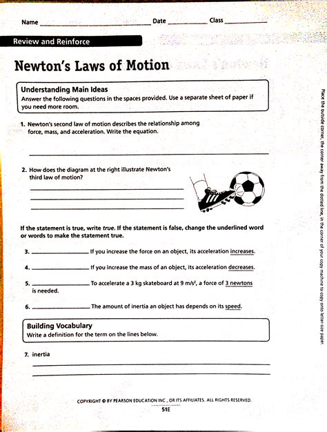 Newtons Laws Worksheet Worksheets Tutsstar Thousands Of Printable Activities