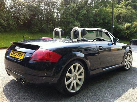 convertible audi used used 2002 audi tt convertible 1 8 t quattro 2dr petrol for