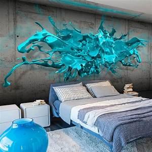 3d Tapete Schlafzimmer : die 25 besten ideen zu 3d tapete auf pinterest ~ Lizthompson.info Haus und Dekorationen