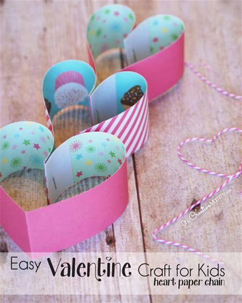 quick  easy valentine craft  kids onecreativemommycom