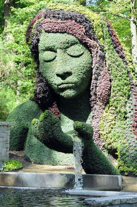 plant sculpture amazing moss sculpture diy flower plant styling pinterest