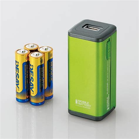 iphone battery jumps elecom portable battery charger for iphone gadgetsin