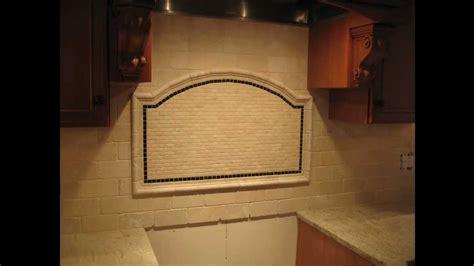 Tumbled Marble subway tile Kitchen Backsplash - YouTube