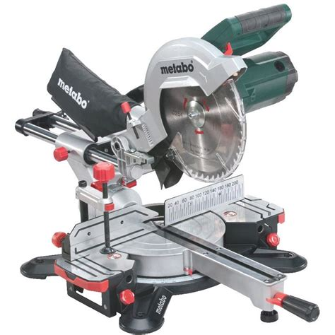 metabo scie 224 onglet et radiale kgs 254 m 6 02540 00 outillage