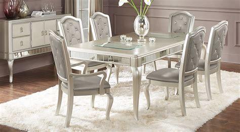 wood dinner table sofia vergara silver 5 pc dining room dining room