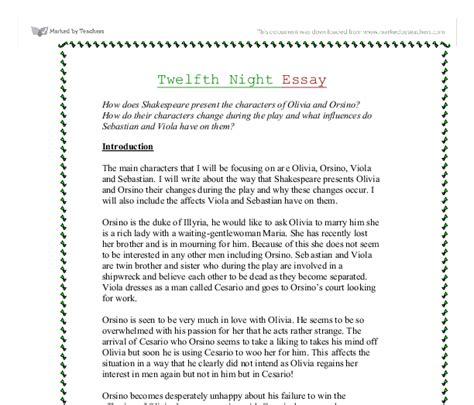 shakespeare essay hook