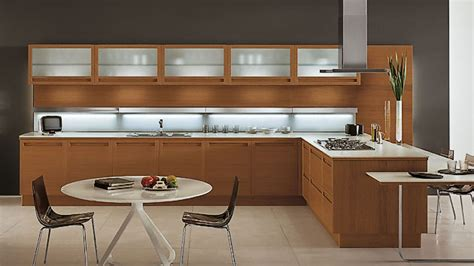 kitchen woodwork designs 20 sleek and modern wooden kitchen designs home 3516
