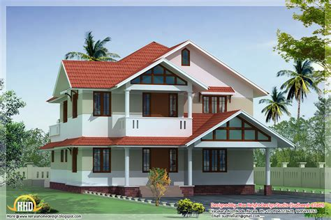 3d House Design : Kerala Home Design And Floor Plans