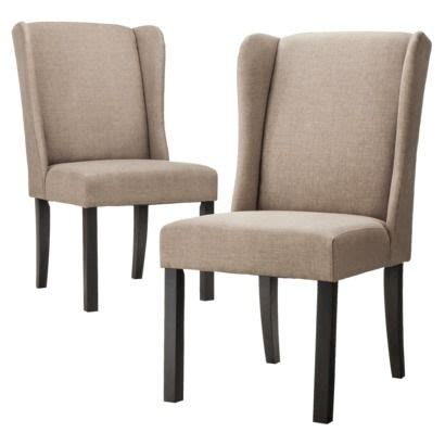 138 for 2 emerson wingback dining chair set of 2