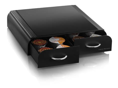 nespresso pack bureau mind reader quot anchor quot coffee pod storage drawer for 20