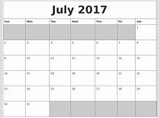 July 2018 Calendar Word calendar month printable